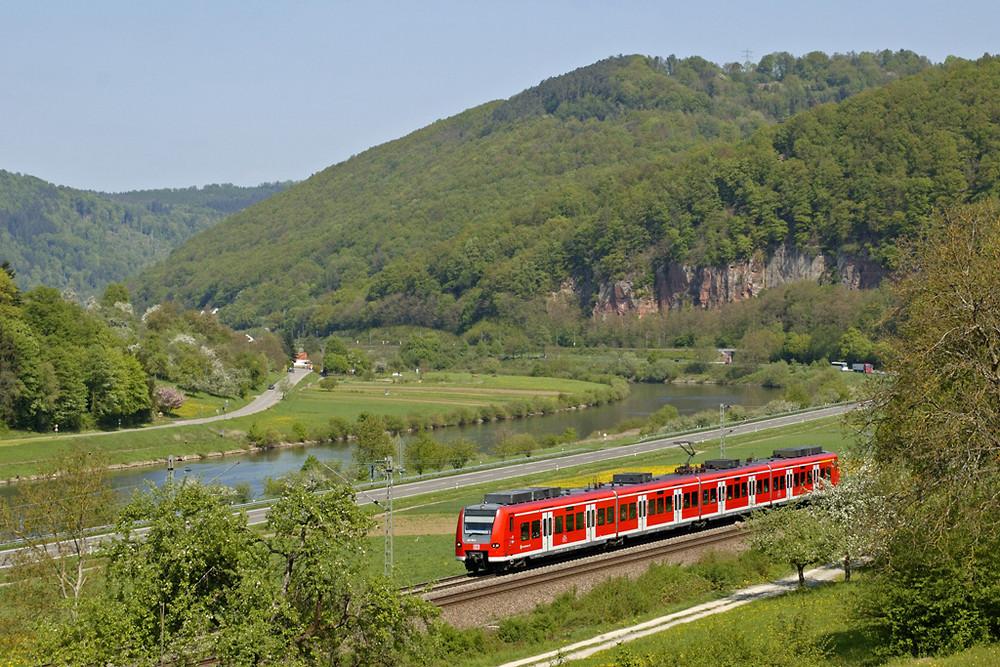 425er im Neckartal