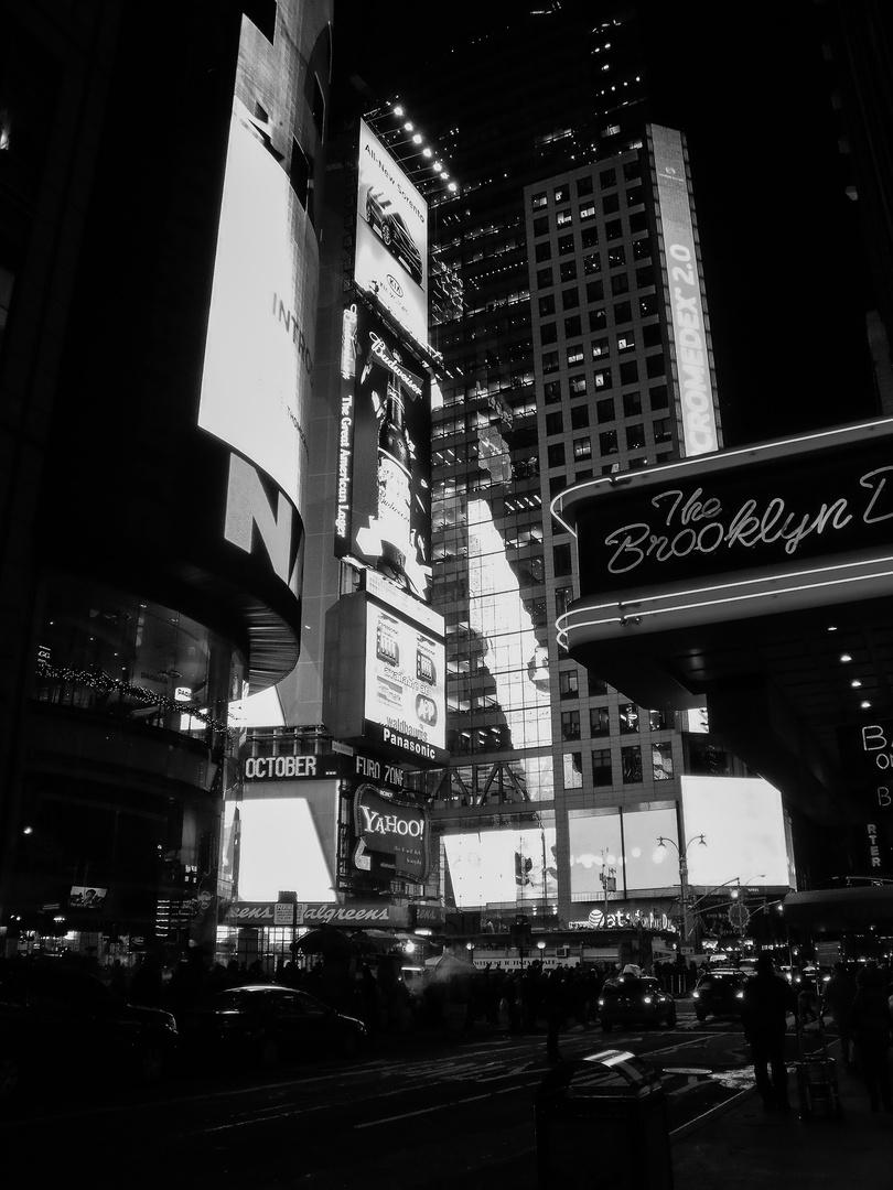 42nd Street am Abend