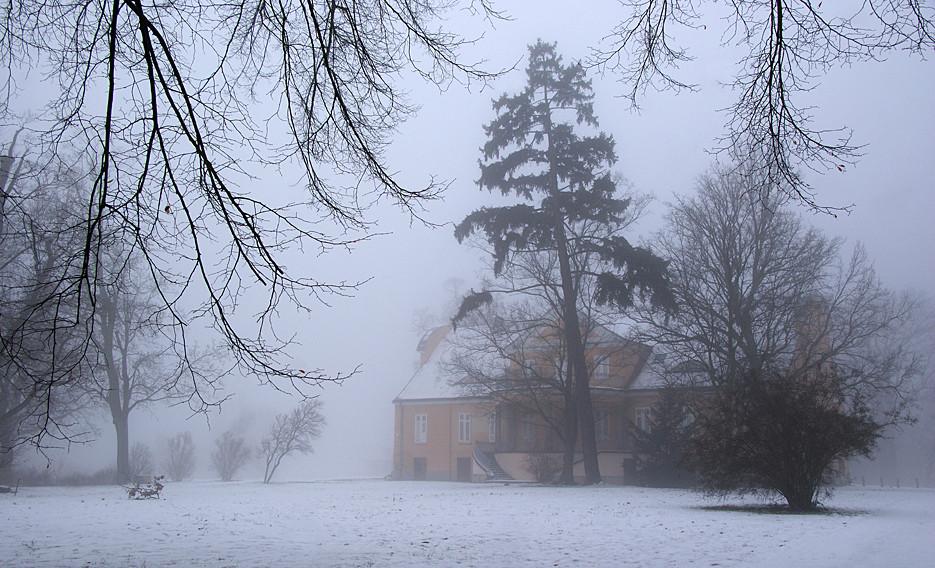 45 Minuten zu Fuß im Nebel, 15.01.09 – 15