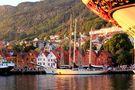 Hanseviertel Brygge in Bergen von Hans Quentmeier