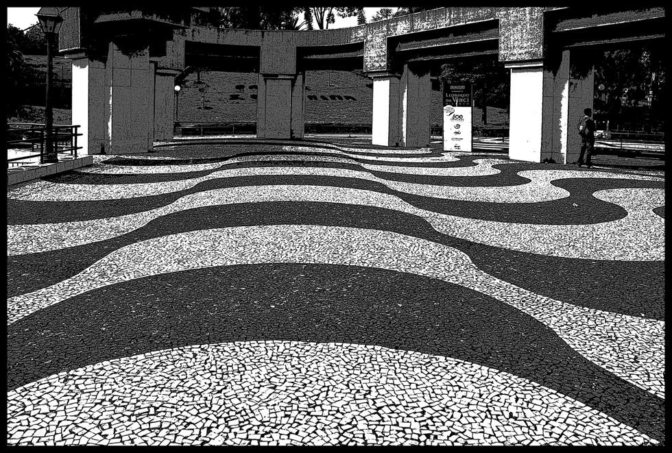 46-09 Madeira - in Schwarzweiß #15