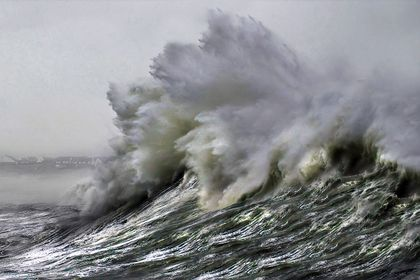 La nature en colère