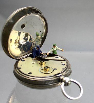 4.Bild Fotostrecke Taschenuhr Reparatur