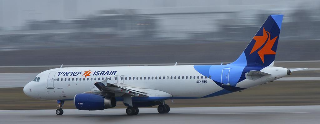 4X-ABG - ISRAIR - Airbus A320