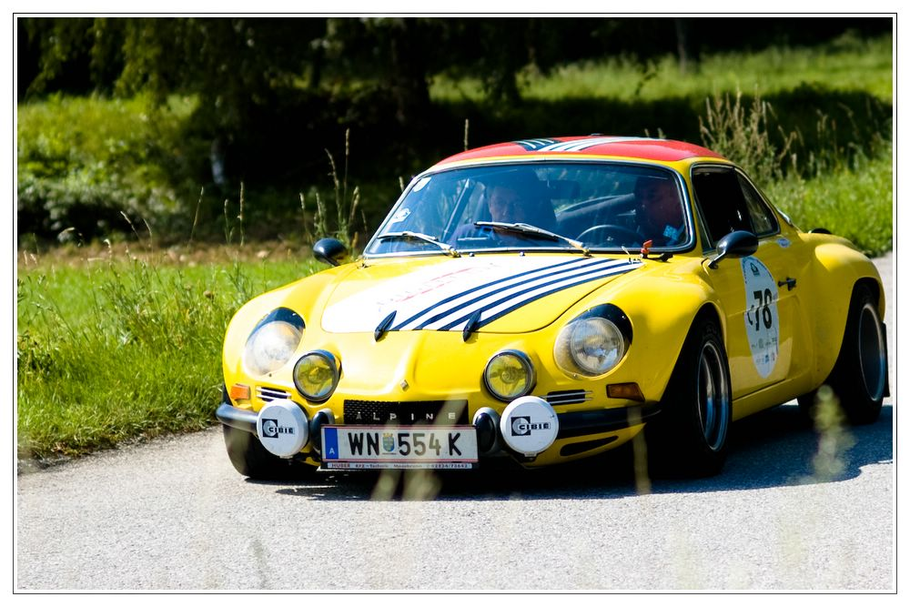 5. Oldtimer-Rally Triest - Wien 22