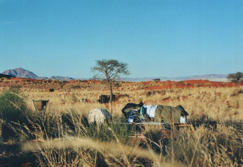 5-Sterne-Unterkunft in der Wüste