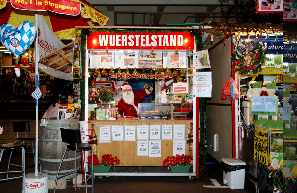 5) Walkabout China-Town Singapore, To visit Erich of Erich's Wuerstelstand!!