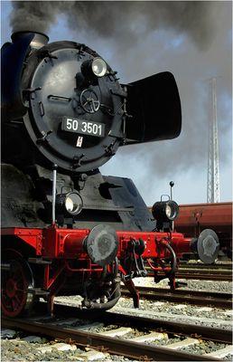 50 3501 ... Schiebelok (früher als Güterzuglok im Einsatz)