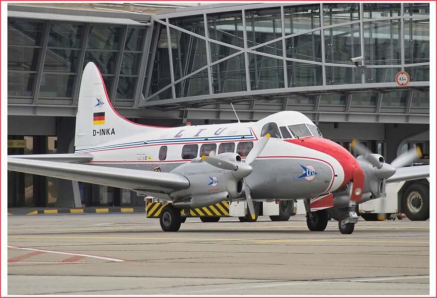 "50 Jahre LTU - De Havilland DH 104 ""Dove"""