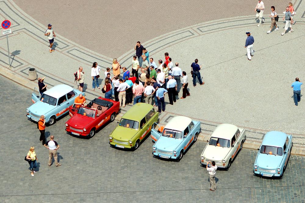 50 Jahre Trabant: Sightseeing in Dresden,Theaterplatz
