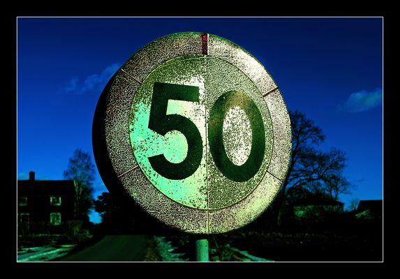 50, schon immer !