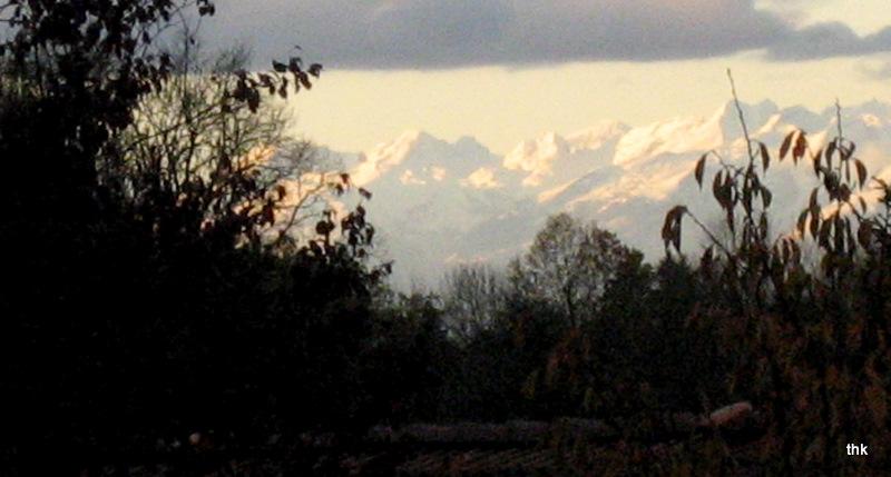 5.11.09 Blick vom Balkon: SÄNTISMASSIV (Schweiz)