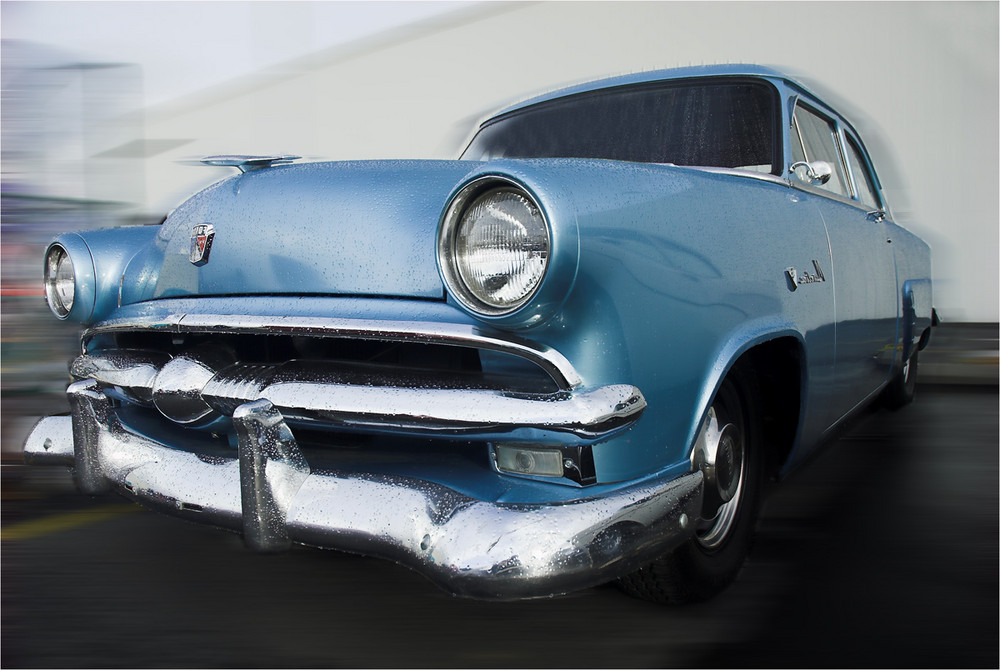 53 ford - runs good as it looks