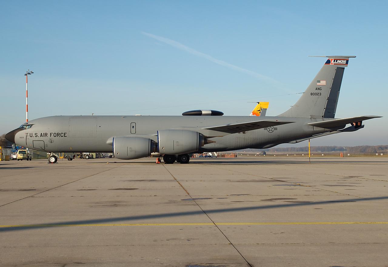 53 Jahre alter Tanker der USAF