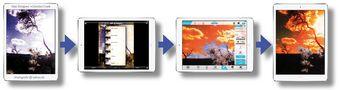 Gegenlicht - Gestaltungsprozess von iPadomane