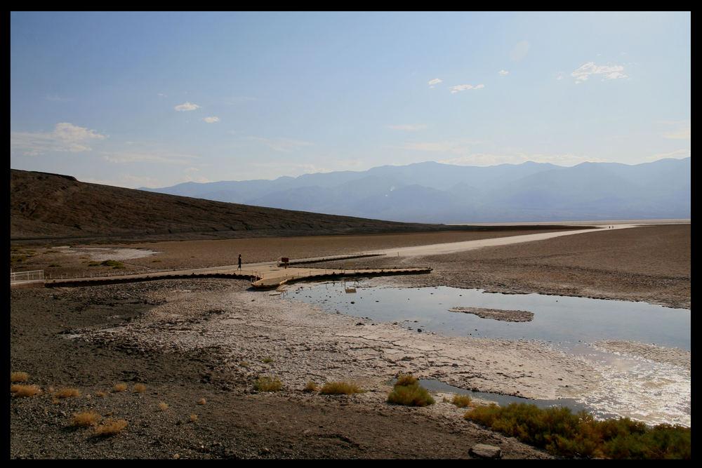 56° im Death Valley - Badwater