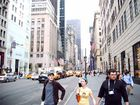 5th Ave - Louis Vuitton, Tiffany's and Cabs