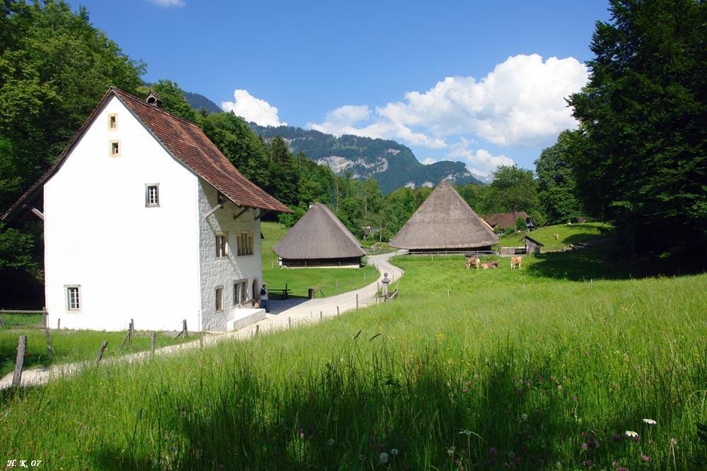 6. Ballenberg Impressionen - Freilichtmuseum Ballenberg / Schweiz