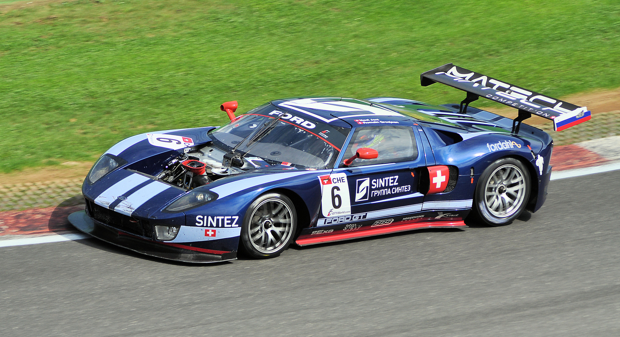 #6 Ford GT