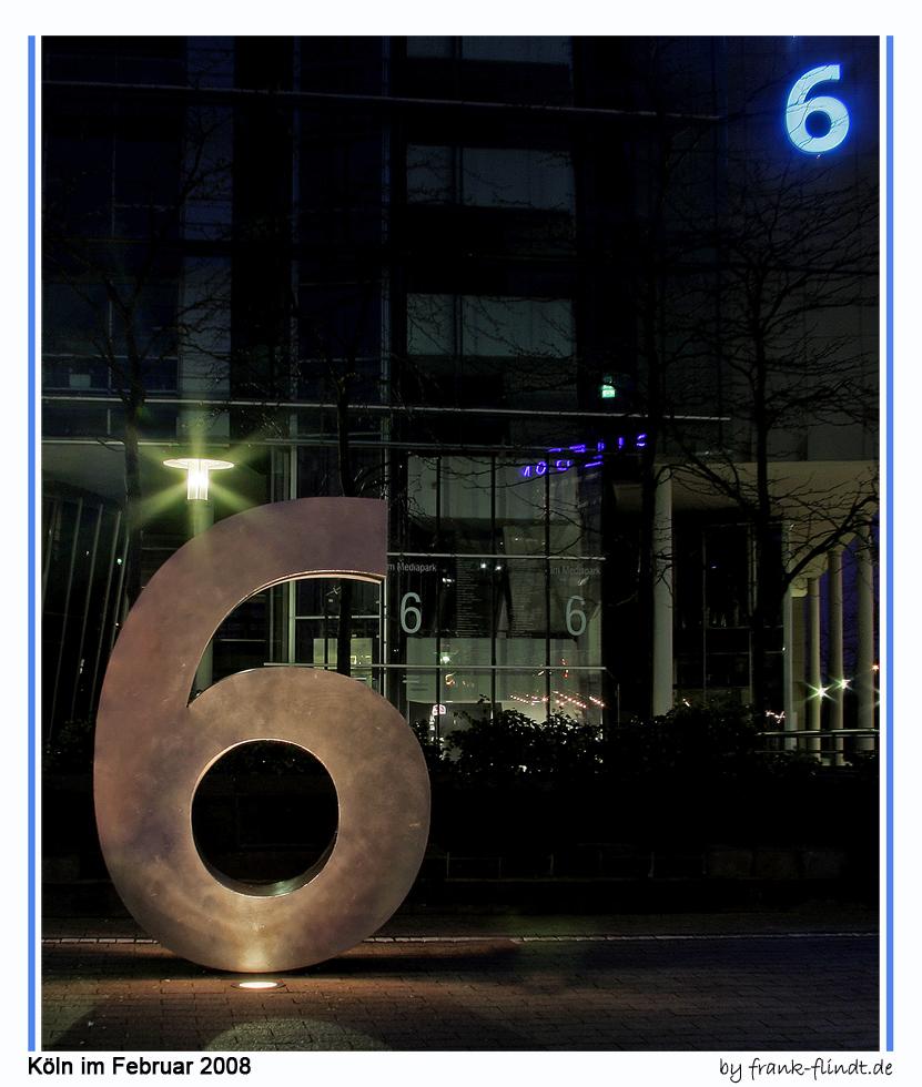 6 hoch 6....