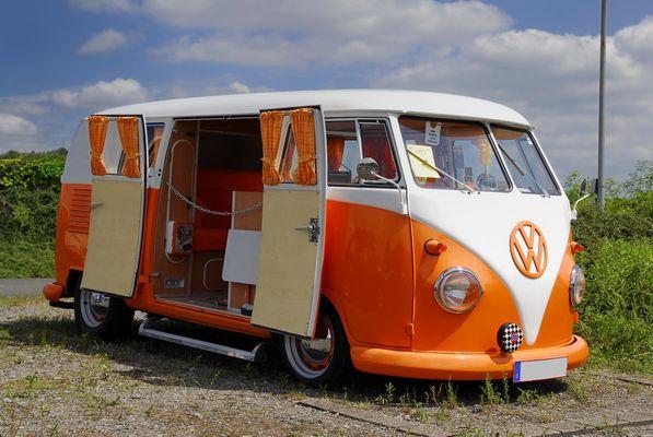 6. Käfertreffen in Lünen - VW - BUS - T1