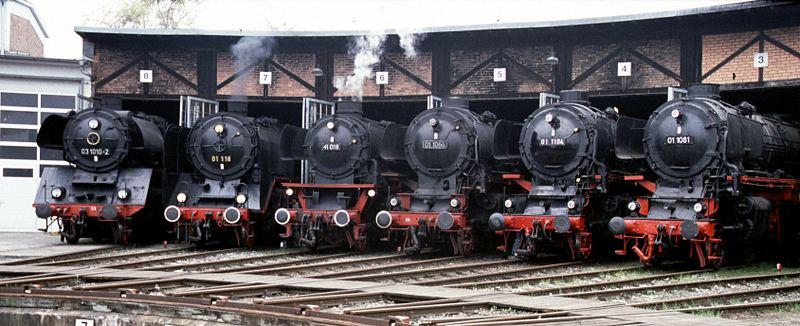 6 mal Dampf im Heilbronner Eisenbahnmuseum