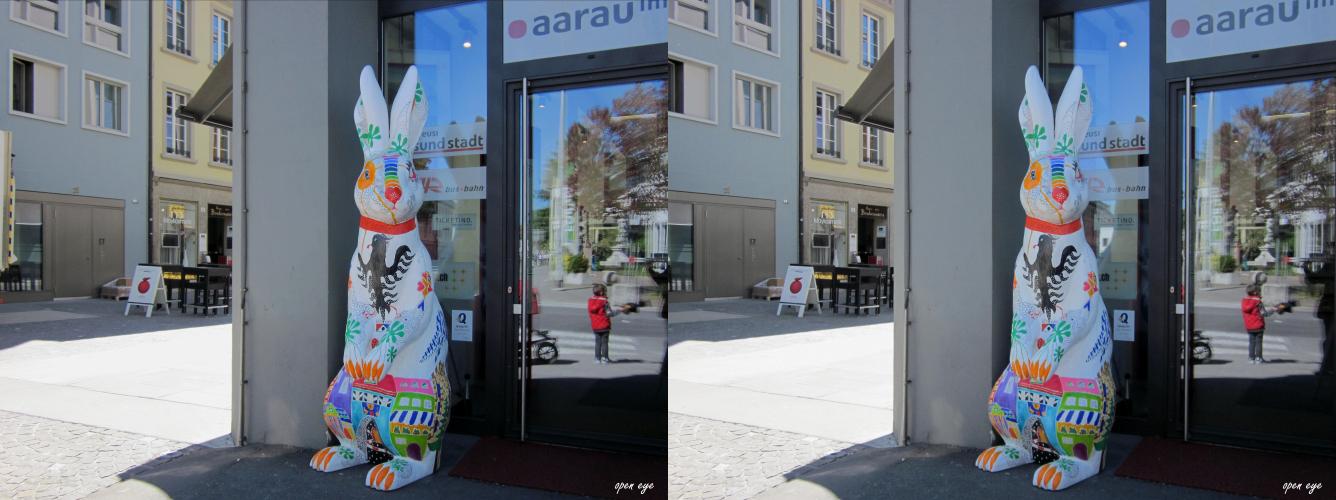 6. _ Osterhase in Aarau / Kt. AG / Schweiz _ X View _