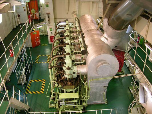 6-Zylinder Schiffs Diesel Motor
