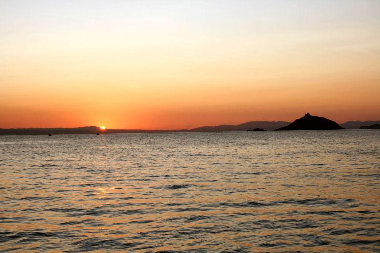 6.05 Uhr auf dem Boot