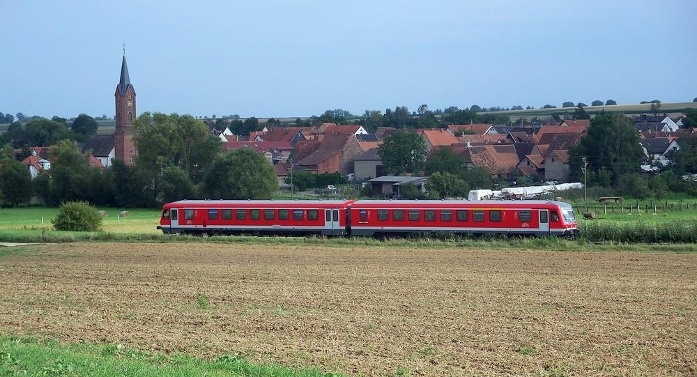 628 auf der Kurbadlinie bei Kapellen-Drusweiler