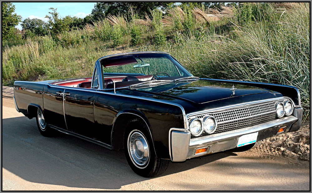 '63 Lincoln Continental Convertible / Suicide Doors