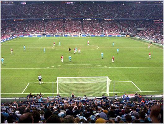 64.000 Zuschauer in der Allianz-Arena