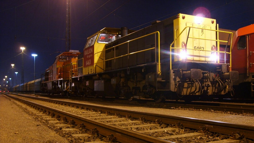 """6463 """"Theo"""" mit SecoRail in Moers"""