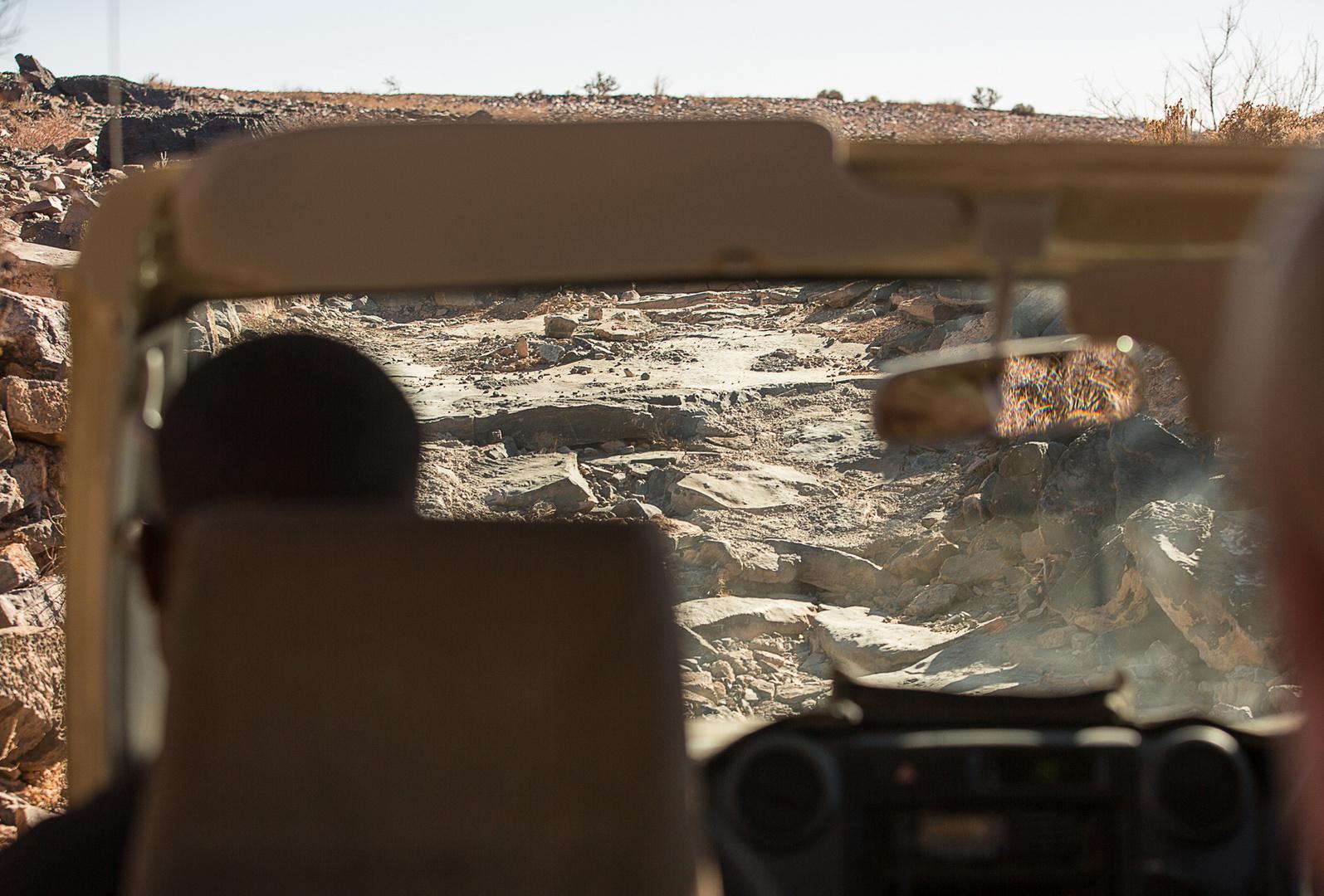 65 - die 'Straße' in den Canyon....