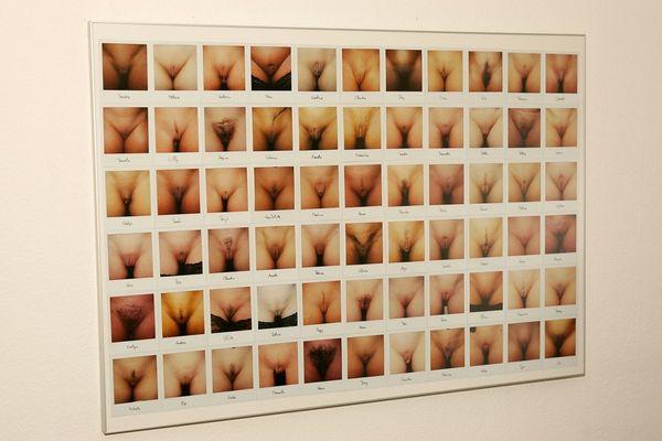 66 Muschis...on polaroid