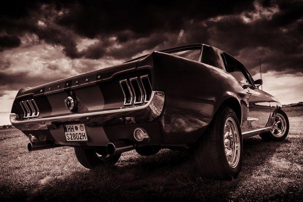 '67 Mustang 347 cui Stroker