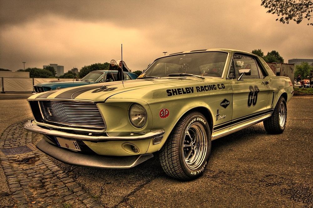 68er Ford Mustang - Shelby - Street Mag Show 2013 Hamburg