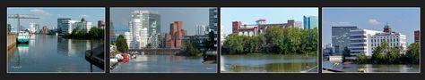Düsseldorf - vom Wirtschaftshafen zum Medienhafen von Ingeborg K