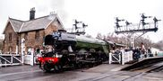 Flying Scotsman at Grosmont by Harold Thompson