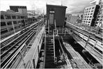 7-Scape No. 12 - Flushing-Bound 7 Train Approaches Queensboro Plaza Station
