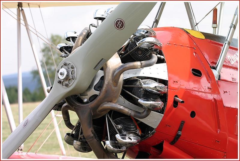 7 Zylinder Sternmotor