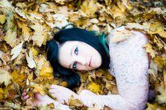 Christina im Herbst