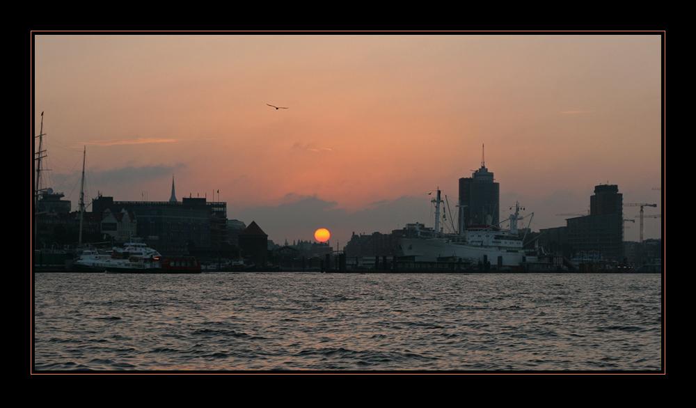 7:06 Uhr im Hafen