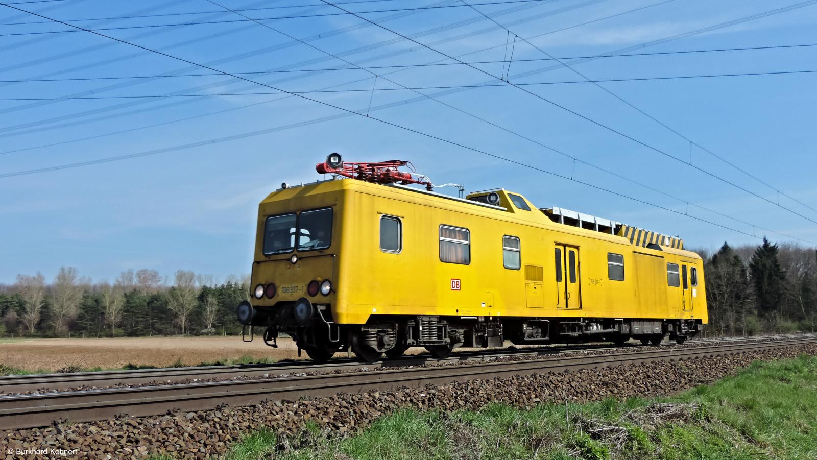 708 337-1 - Eisenbahndienstfahrzeug