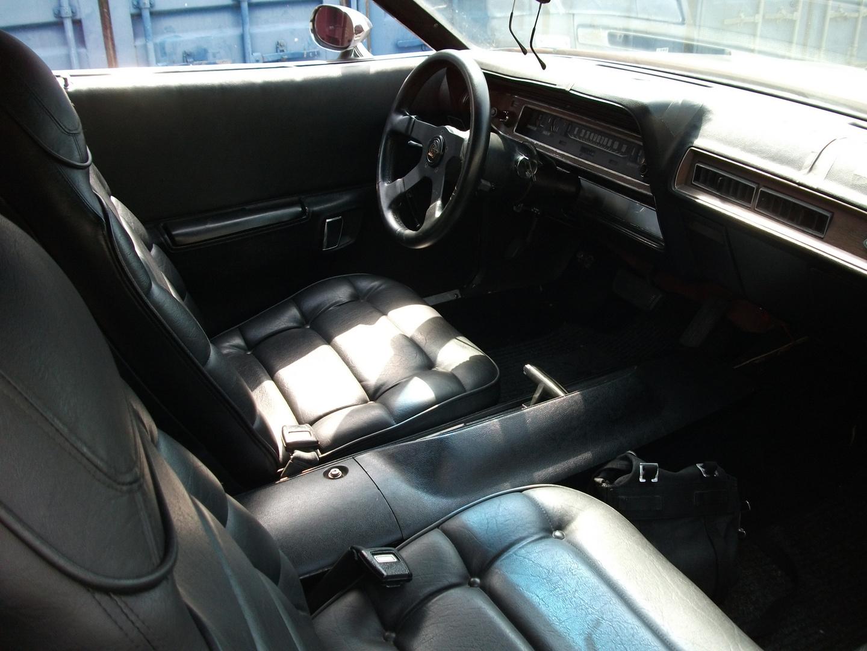 72er Dodge Charger innen