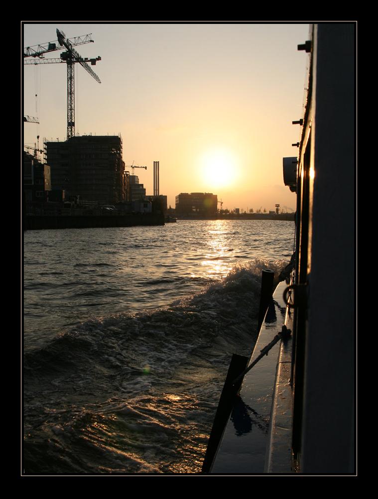 7:30 Uhr - der Hafen erwacht