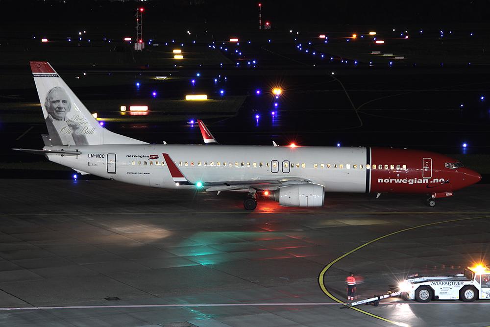 737-800 Norwegian LN-NOC
