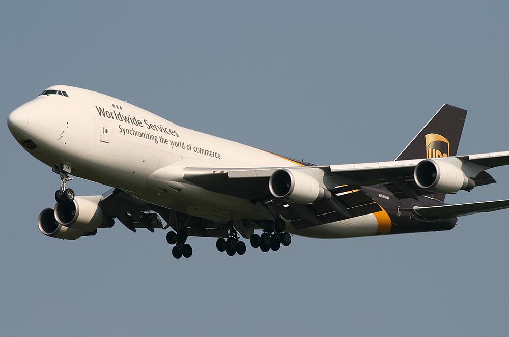 747-400 UPS N574UP immer wieder sonntags...