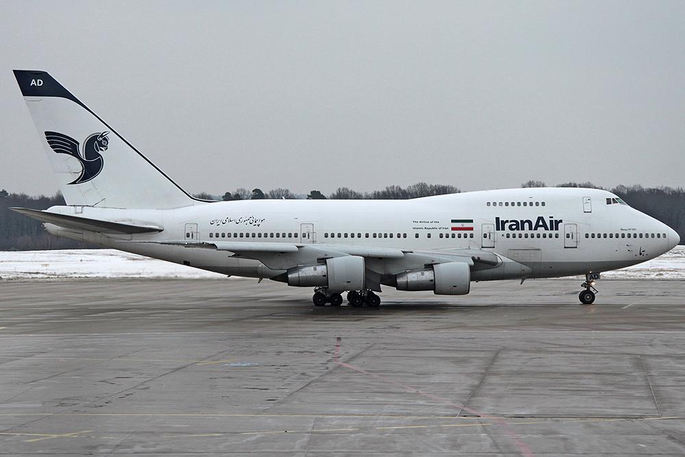 747SP Iran Air EP-IAD