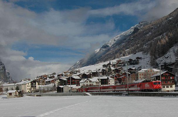 75 Jahre Glacier-Express...